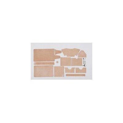 クラフト社 革キット 角型ウォレット (ナチュラル) 14369-01 B01N0Z6KKC