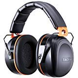 Noise Reduction Safety Ear Muffs, Tacklife HNRE1 Shooters Hearing Protection Ear Muffs, Folding-Padded Head