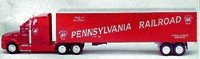K-LINE TRAINS PENNSYLVANIA RAILROAD HEAVY HAULER TRACTOR TRAILER TRUCK K-8120TT