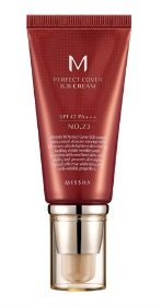 Cream Bb Foundation (MISSHA M Perfect Cover BB Cream No.23 Natural Beige SPF42 PA+++ (50ml))