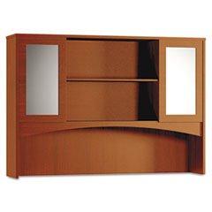 Modern Hutch with 2 Glass Doors (2 Door Modern Hutch)