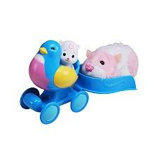 Zhu Zhu Babies - Push-Along Bluebird Buggy