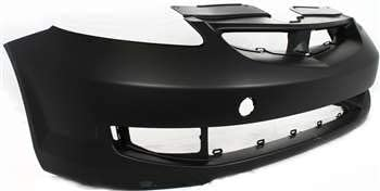 Front Bumper Cover Compatible with HONDA FIT 2007-2008 Primed Sport Model