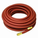 Reelcraft S601026 100 Low Pressure Air Water Hose Assembly  3 4  X 100  250 Psi  3 4  X 3 4 Nptf M   1 075 Od  Pvc Nylon