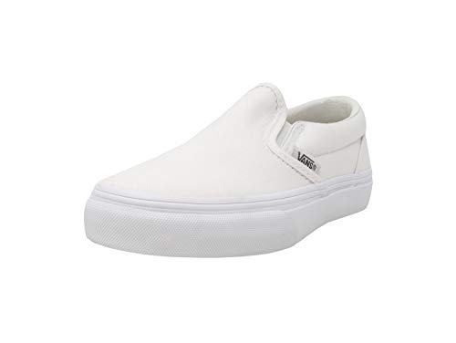 Vans Toddler Classic Slip-On Core, White-10.5 -