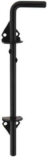 - National Hardware S532-500 CD1009 Cane Bolt Black Coated, 1/2