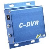 DVR Mini CCTV CDVR Micro SD Card Recording Metal with Charger (320 16 Channel Dvr)