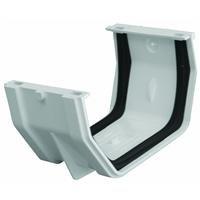 Genova #RW105 White Gutt Slip Joint
