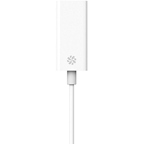 Kanex USB C to Gigabit Ethernet Adapter 8.25 Inches (21 cm)-White
