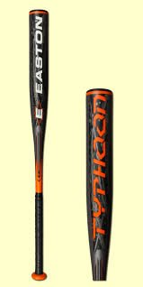 Easton 2012 LK72 Typhoon Youth Baseball Bat 28/17 -11 (Easton Typhoon Baseball Bat)
