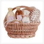 Koehlerhomedecor Indoor Natural Spa Set Ginger Therapy Bath And Body Gift Basket