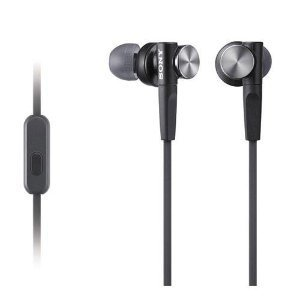 Great Essential Sony MDRXB50AP Extra Bass Earbud Headset (Black)
