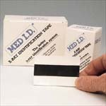 Med I.d. X-ray Identification Tape 3/4'' X 3'' Identification Tape - Box of 300
