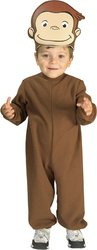 [Curious George Costume, Toddler] (Costumes Curious George)