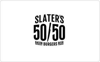 Slater's 50/50 Gift Card ($60)