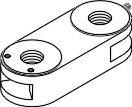 Arm Adapter for Pelton & Crane PCA670