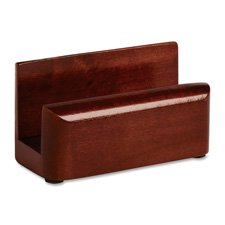- Rolodex 23330 Wood Tones Business Card Holder Capacity 50 2 1/4 x 4 Cards Mahogany