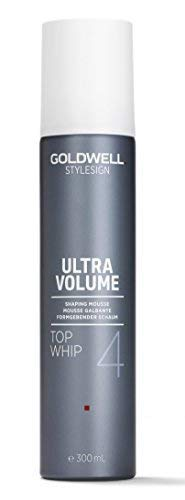 (Goldwell Style Sign Volume 4 - Top Whip Ultra Strong Volume Mousse -9.9 oz)