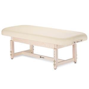 EARTHLITE Sedona Flat Top Stationary Massage Table - Light Beige