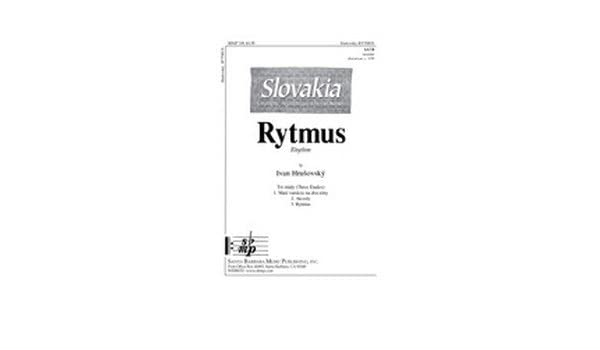Rytmus - SATB, a cappella - Sheet Music: Ivan Hrusovsky