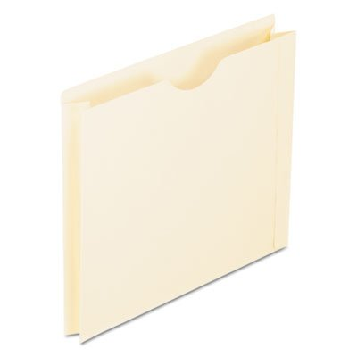 Pendaflex : Double-Ply Tabbed File Jacket w/2 Expansion, Ltr, Manila, 50/Bx -:- Sold as 2 Packs of - 50 - / - Total of 100 Each ESSELTE PENDAFLEX CORP.