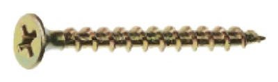 NATIONAL NAIL 302159 25LB2-1/2-Inch Screw, Gold by National Nail