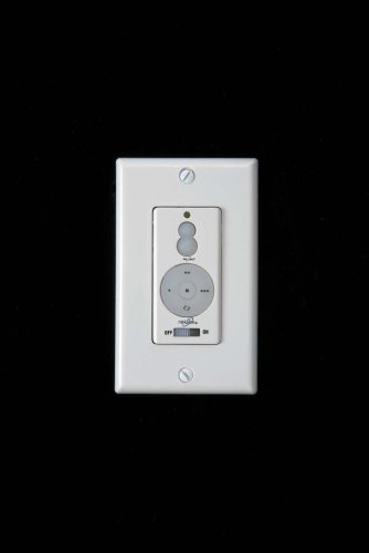 Ivory Wall Control - Minka Aire Ceiling Fan Wall Control WCS212, 3-Speed Forward/Reverse, Up/Down Light Dimmer