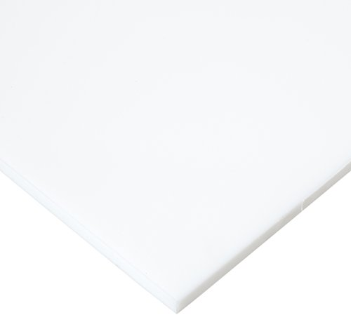 - Sanatec High Density Polyethylene Sheet, Matte Finish, 1/2