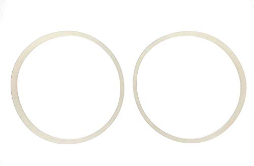 FAB INTERNATIONAL 2 Pack Replacement Gasket Compatible with Skinny Girl, Bella Rocket Extract Pro Blender 700 Watt Motor.