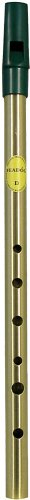 Feadog Brass Irish Penny Whistle - Key of D ()