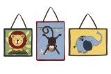 Jungle Time Wall Hanging Accessories by Sweet Jojo Designs