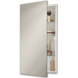 Jensen 869P24WH Specialty Flush Mount Single-Door Recessed Mount Medicine Cabinet - Single Door Medicine