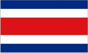 3ft x 5ft Costa Rica Flag - Polyester - Online Stores - 3 x 5 - Poly Costa Rican - Costa Online Shop