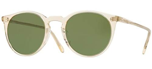 Oliver Peoples Eyewear Men's O'Malley Sunglasses, Buff/Green, One ()