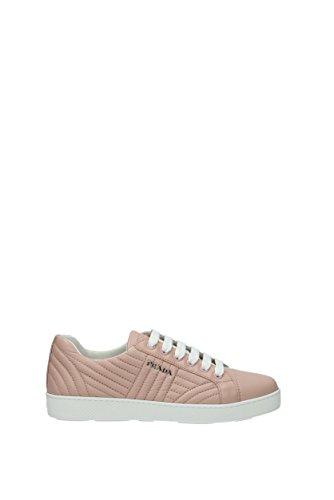 Rosa Sneakers Eu 1e344inappa3 Prada Piel Mujer nBBqwxZUST