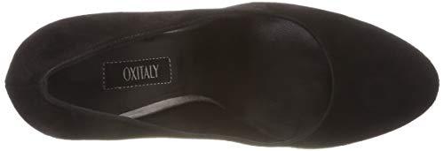 de Oxitaly Cerrada Punta para con Zapatos Schwarz 100 Rosalia Tacón Mujer Nero Nero 0qwrt0Y