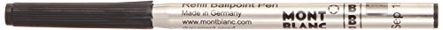 Montblnac Kugelschreibermine B schwarz 105148