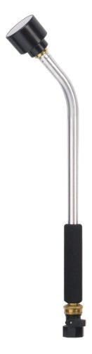 Dramm 12368 Classic Rain Watering Wand 16-Inch Length with 8-Inch Foam Grip, Silver (Rain Wand)