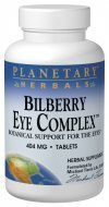 (Bilberry Eye Complex Planetary Herbals 120 Tabs)