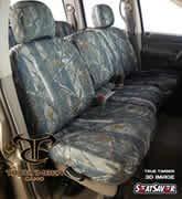 SS8325TTXD Covercraft Seat Saver Third Row True Timber 3D Image Camo