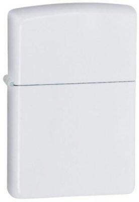 Zippo Water Butterfly White Matte Lighter