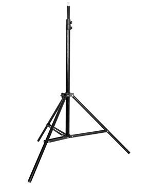 CowboyStudio Photography/Video Studio Lighting Kit with Black, White, and Green 6 feet x 9 feet Muslins Backdrop and Background Support System by CowboyStudio