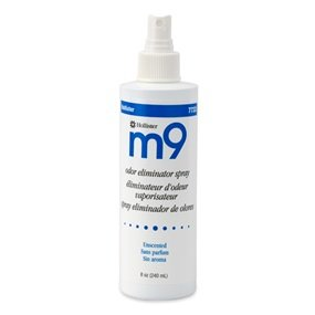 M9 Odor Eliminator Spray Unscented/8 oz./Box of 6