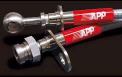 APP ジムニー JB23W BRAKE LINE SYSTEM スチール SB127-ST   B07JP21XTD
