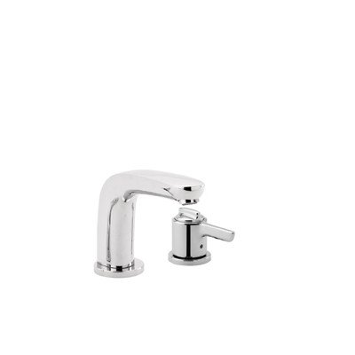 Hansgrohe HG04139820 Allegro E 2-Hole Thermostatic Tub Filler Trim, Brushed Nickel - Brushed Nickel Allegro
