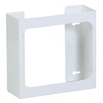 Double White Steel Glove Box Holder - CL-GW-2020