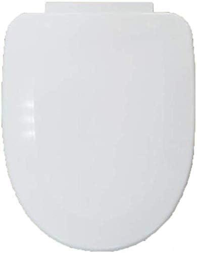 HZDXT 便座V/Uは*バスルーム、洗面所、ホワイト-40-43用トイレのカバーを取り付けたバッファーパッドクイックリリース超耐熱底部とトイレの蓋形状34cmの