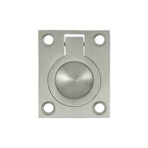 Nickel Accessory Flush Pulls - 8