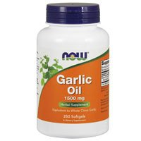 NOW Foods GARLIC 1500mg SGELS product image