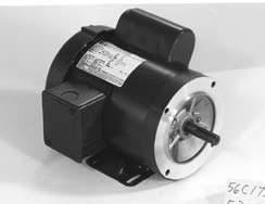 Marathon c375 56c frame totally enclosed fan cooled for Totally enclosed fan cooled motor